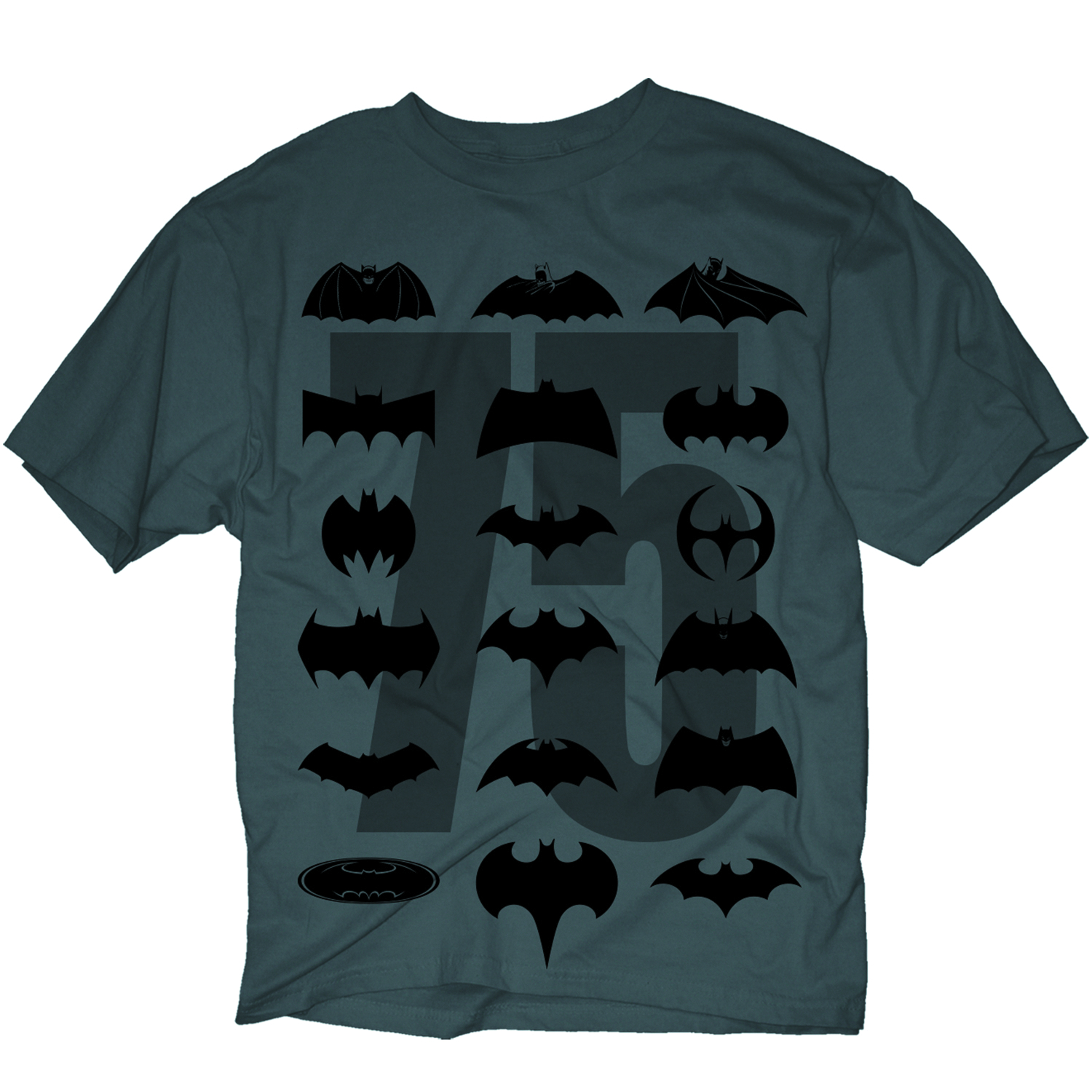 BATMAN 75TH SYMBOL EVOLUTION PX T/S MED