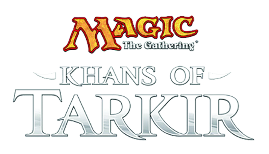 MTG TCG KHANS OF TARKIR INTRO DECK DIS