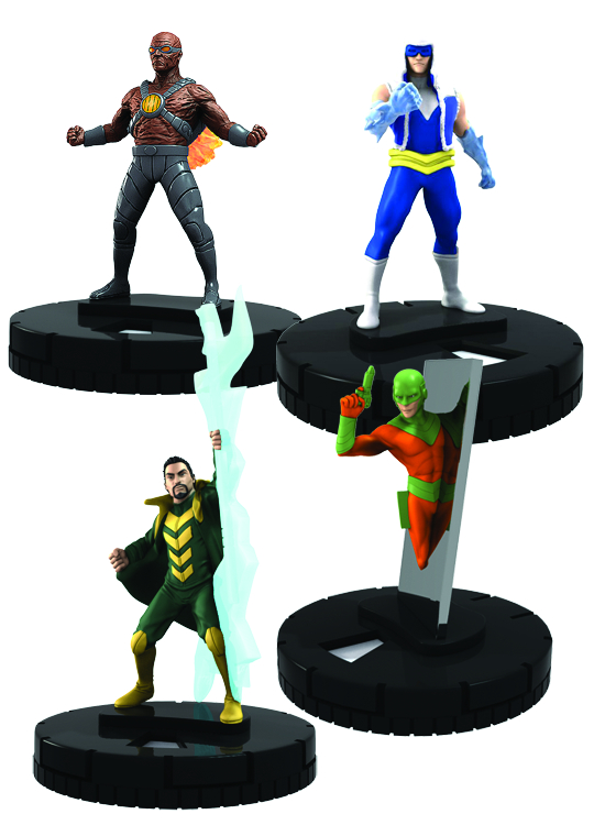 DC HEROCLIX FLASH ROGUES FAST FORCES 6PK