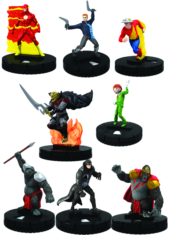 DC HEROCLIX FLASH 24 CT GRAVITY FEED
