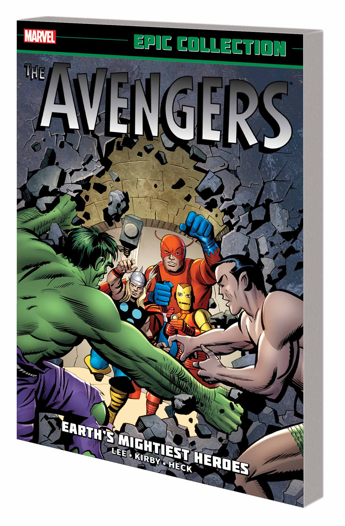 AVENGERS EPIC COLLECTION (01) TP EARTHS MIGHTIEST HEROES [1963 #1-20]