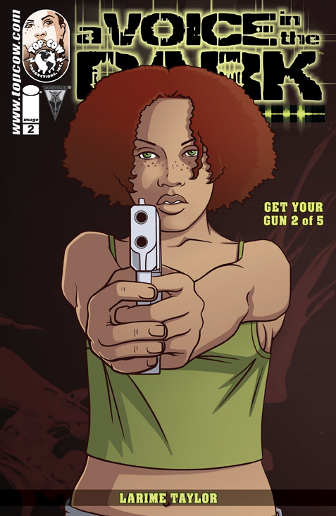 A VOICE IN THE DARK GET YOUR GUN #2 (OF 5) CVR A TAYLOR