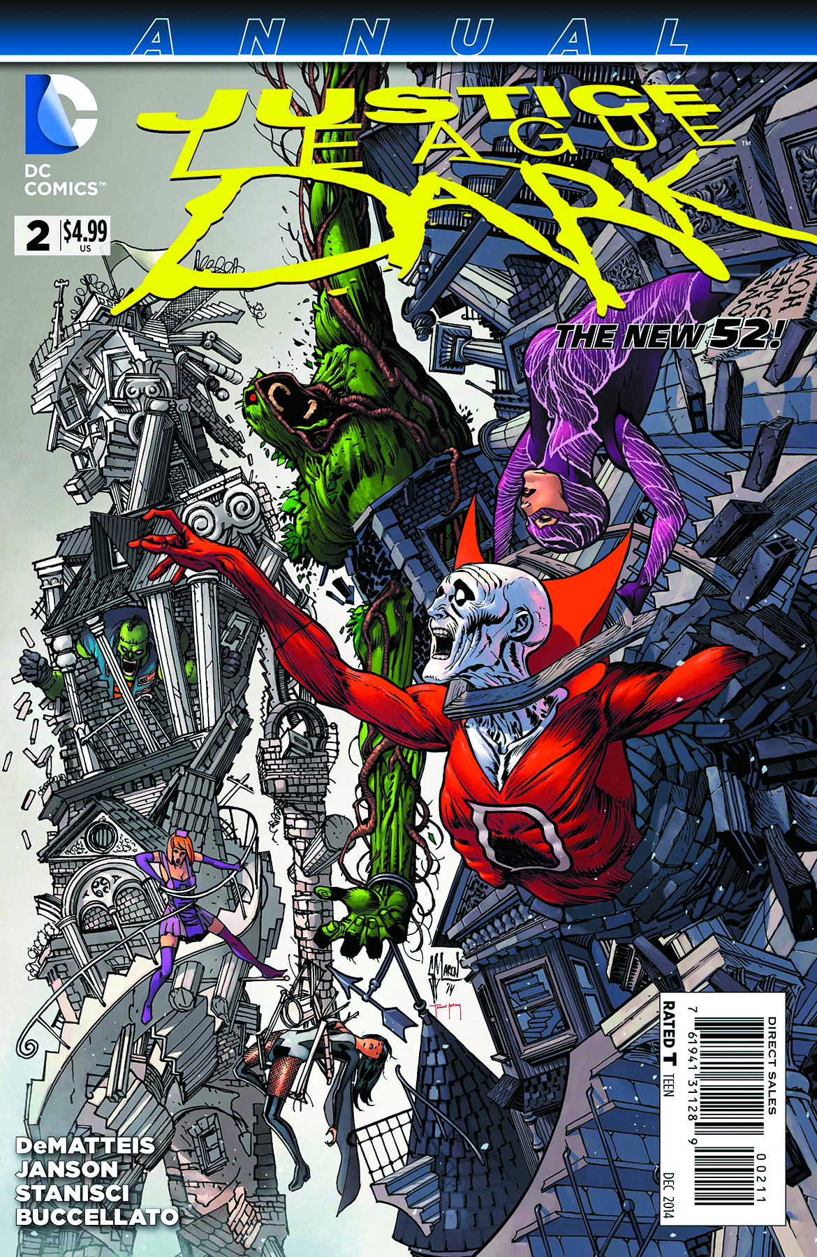 JUSTICE LEAGUE DARK ANNUAL #2