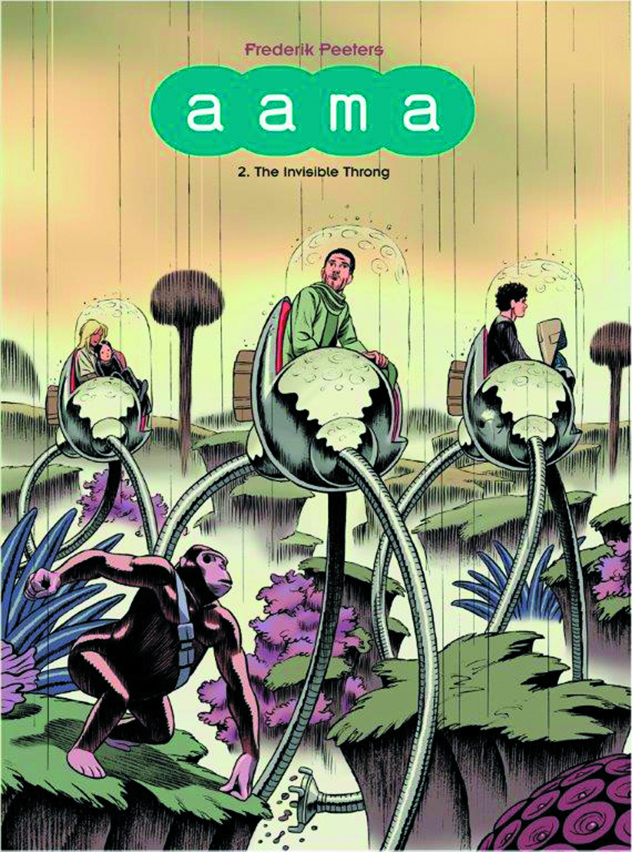 AAMA GN VOL 02 INVISIBLE THRONG