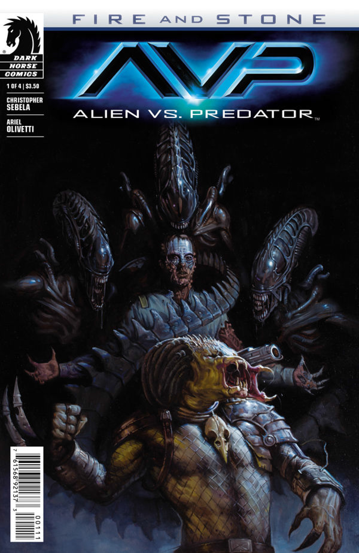 ALIEN VS PREDATOR FIRE AND STONE #1