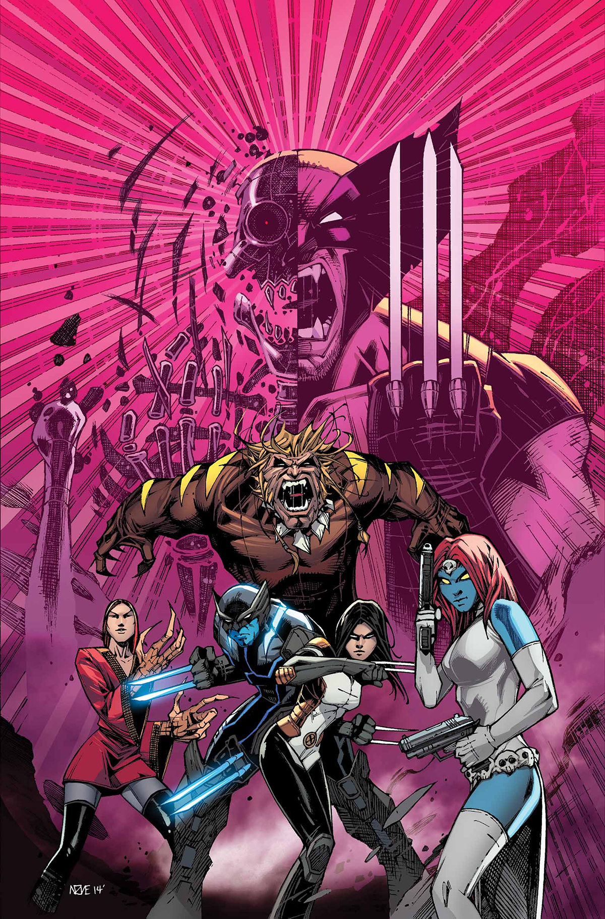 DEATH OF WOLVERINE LOGAN LEGACY #1