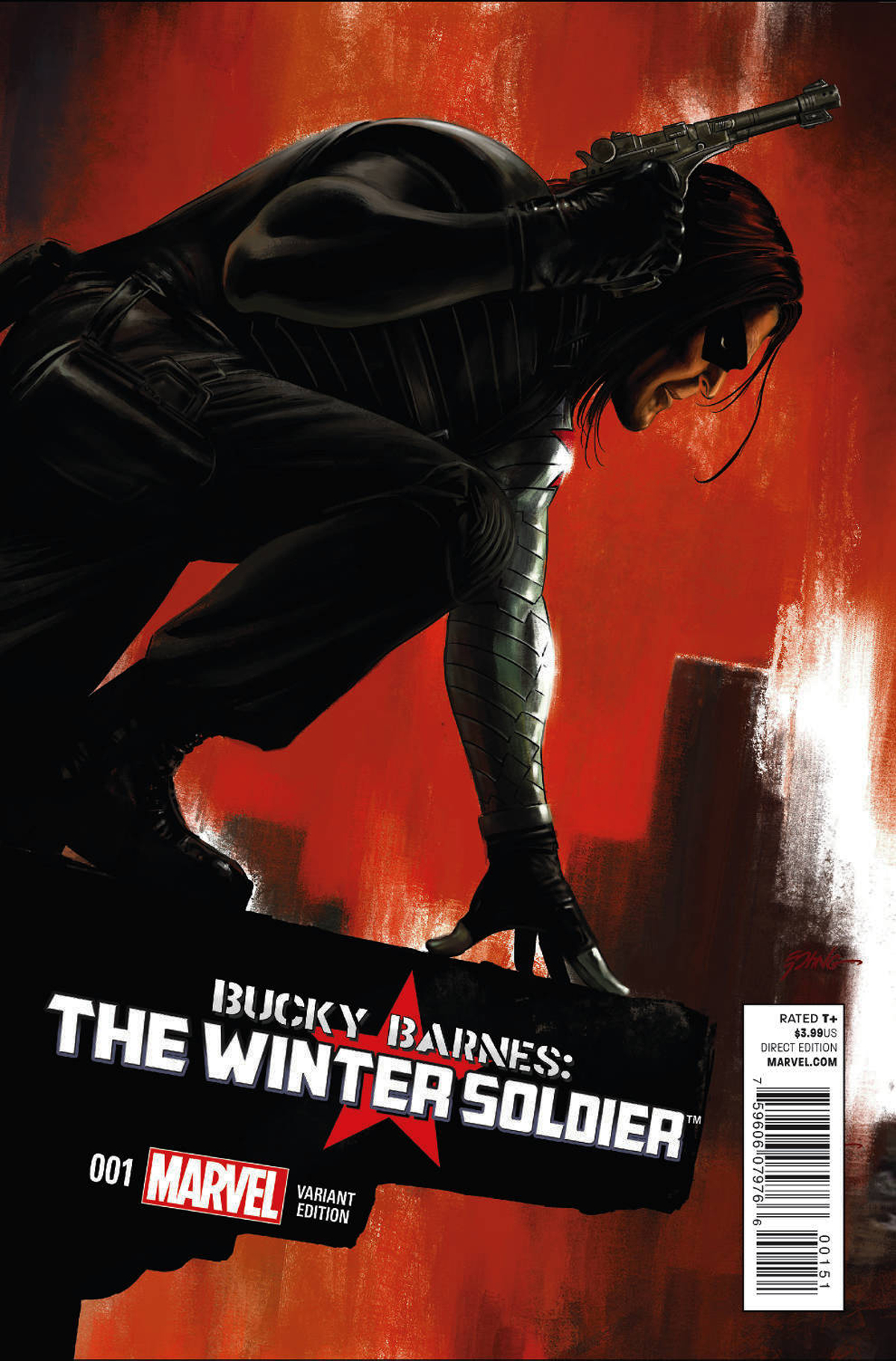 BUCKY BARNES WINTER SOLDIER #1 EPTING VAR