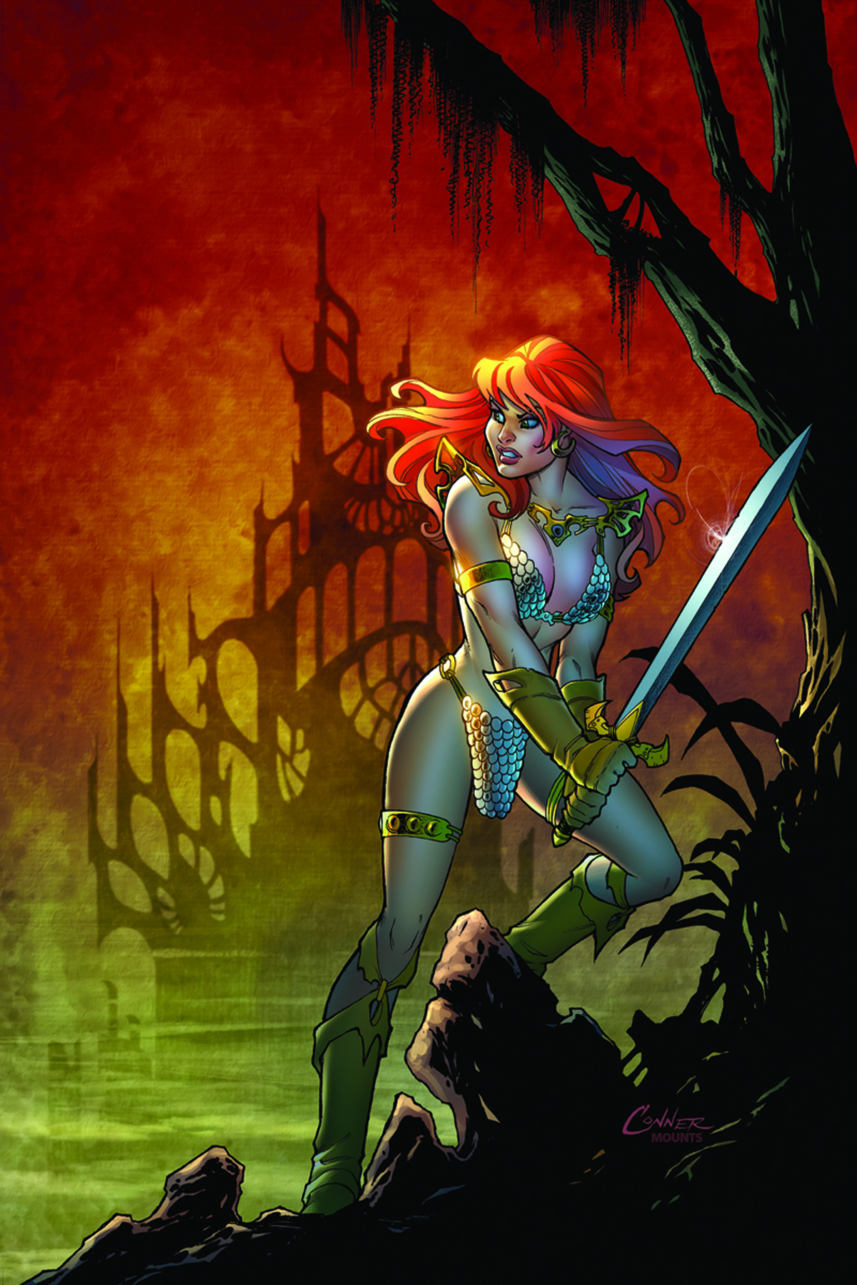 RED SONJA BLACK TOWER #1