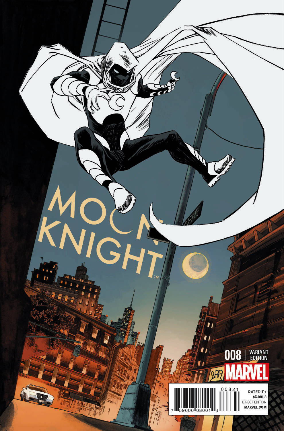 MOON KNIGHT #8 SHALVEY VAR
