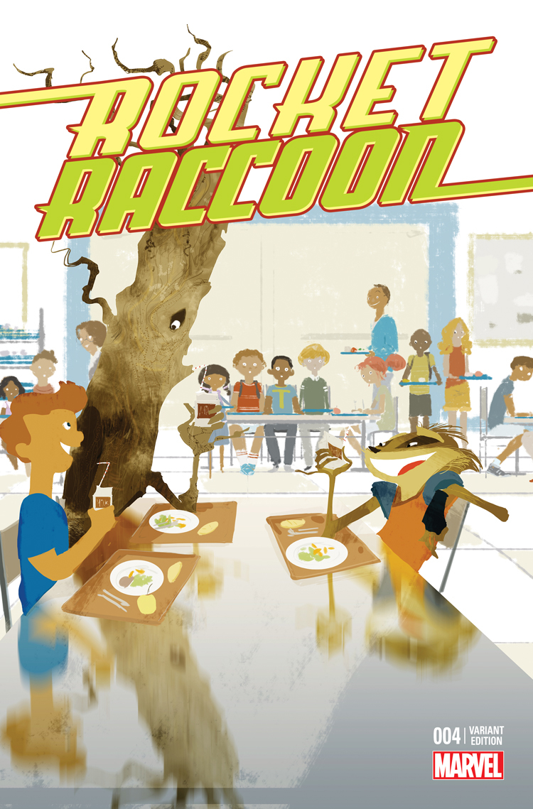 ROCKET RACCOON #4 CAMPION STOMP OUT BULLYING VAR