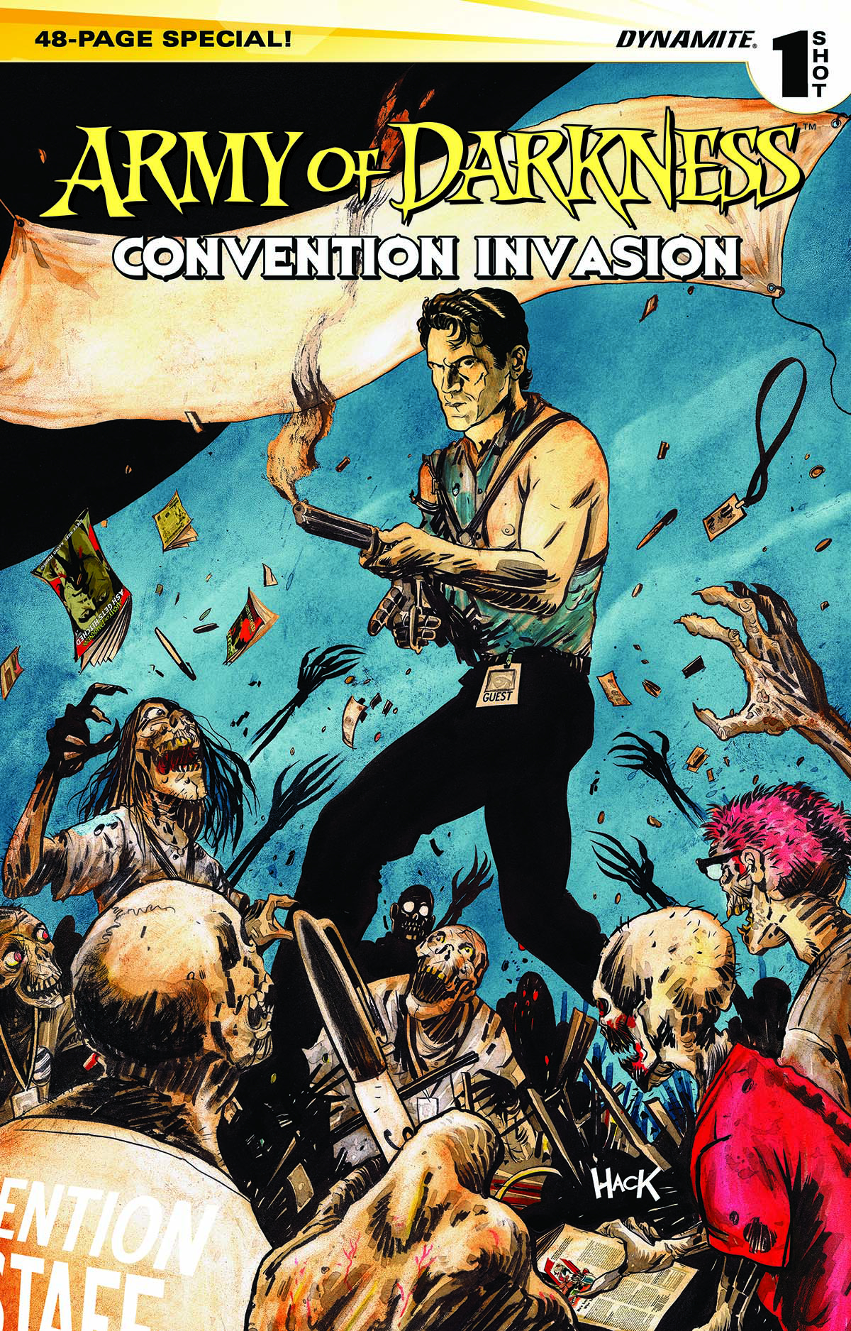 ARMY OF DARKNESS CONVENTION INVASION ONE SHOT