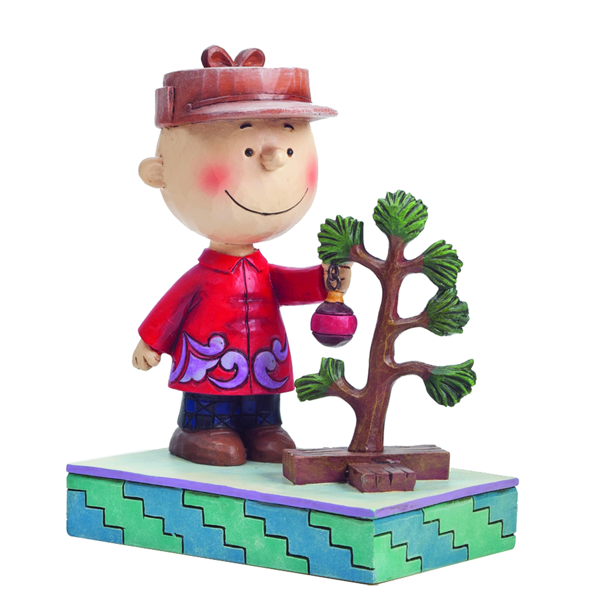 PEANUTS TRADITIONS CHARLIE BROWN W/TREE FIG