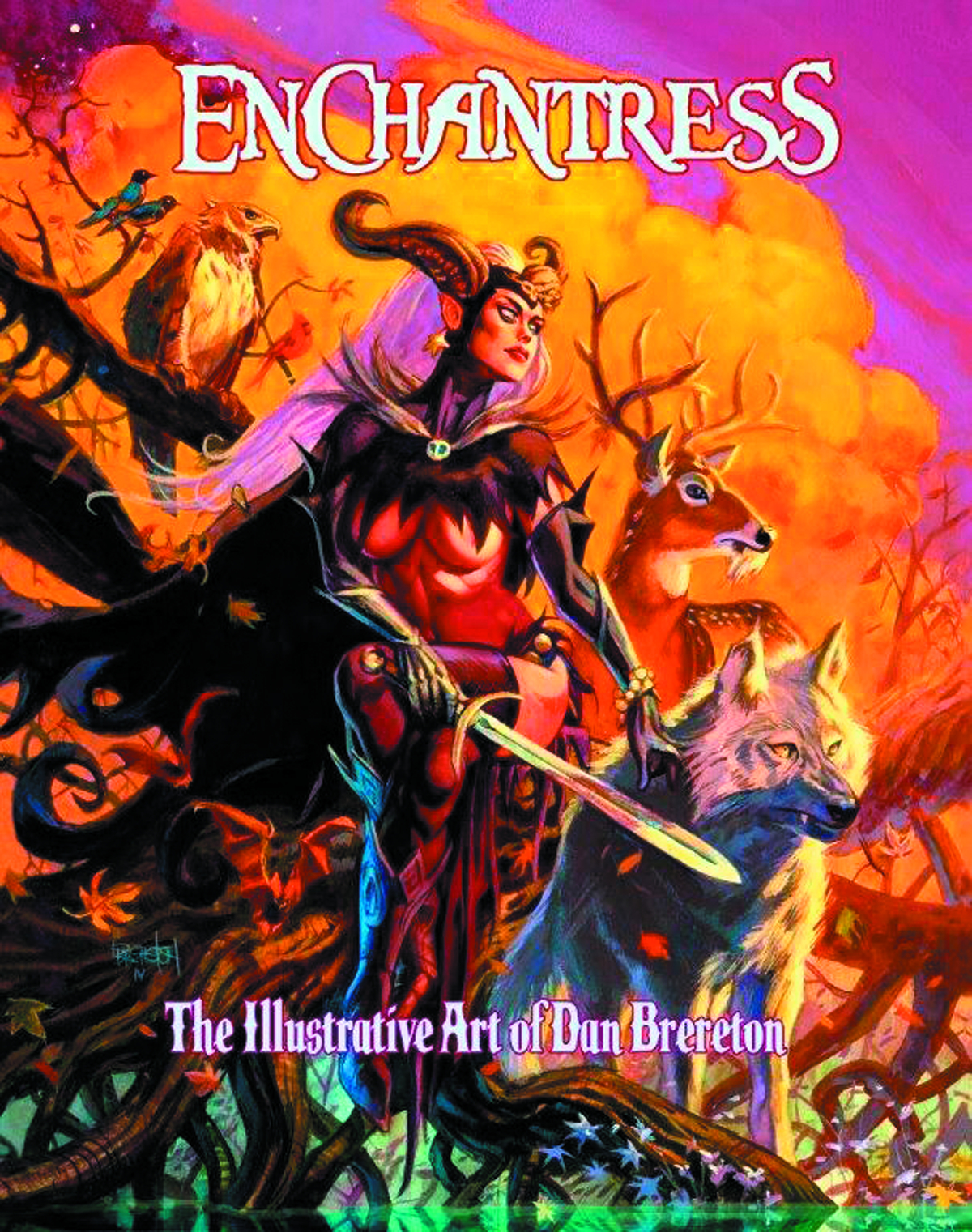 ENCHANTRESS ILLUSTRATIVE ART OF DAN BRERETON HC