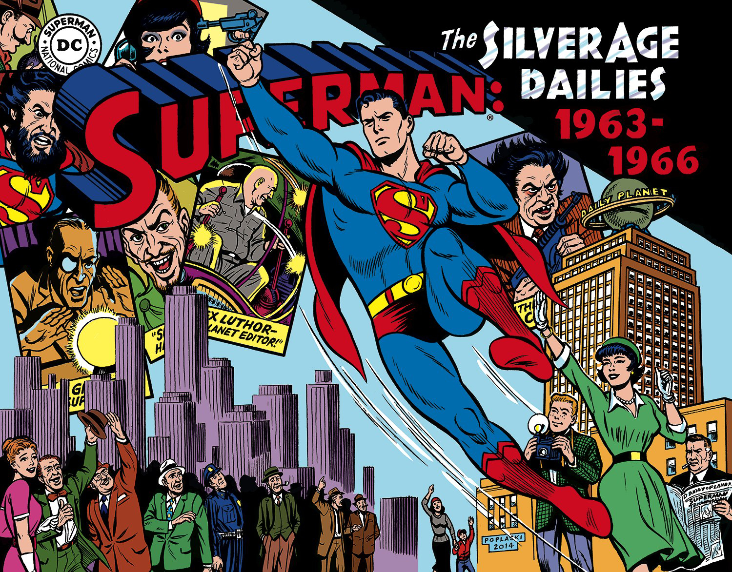 SUPERMAN SILVER AGE NEWSPAPER DAILIES HC VOL 03 1963-1966