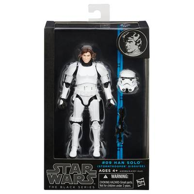 STAR WARS BLACK HAN SOLO STORMTROOPER 6IN AF