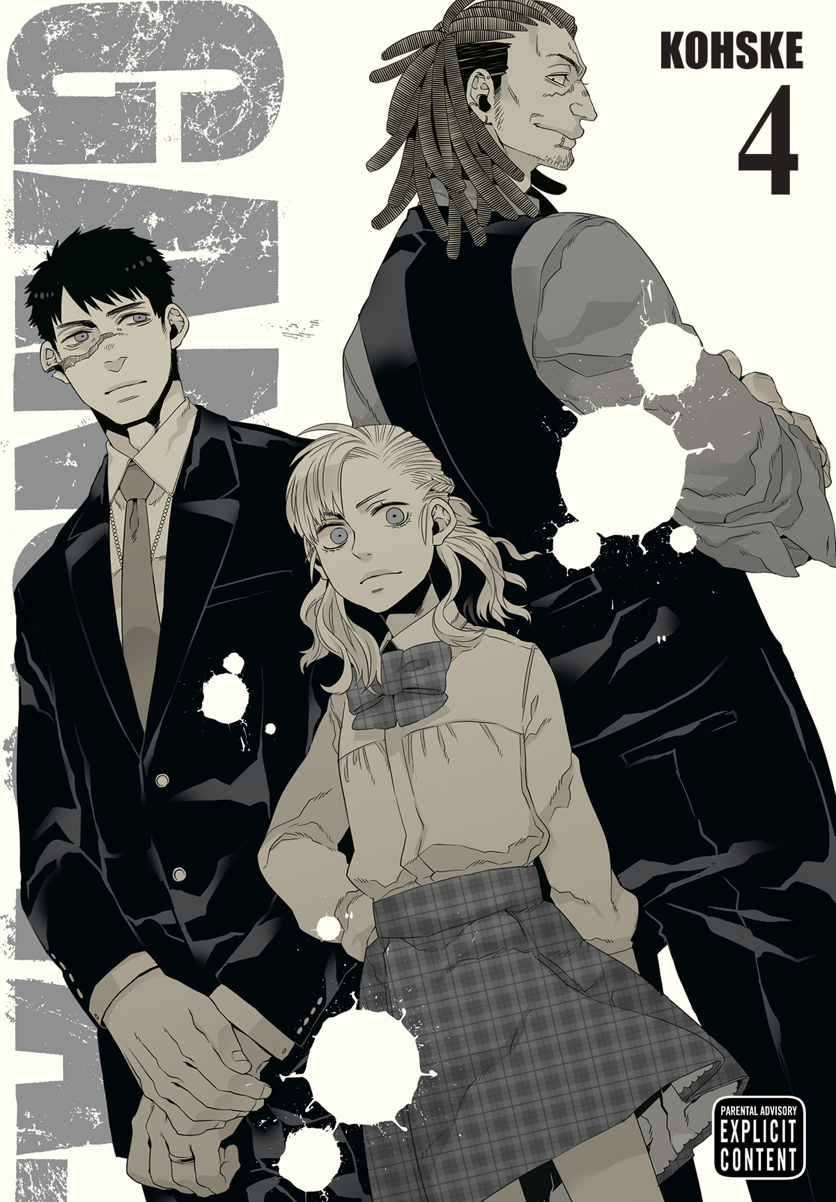 GANGSTA GN VOL 04