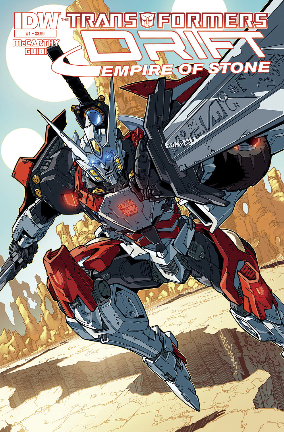 TRANSFORMERS DRIFT EMPIRE OF STONE #1