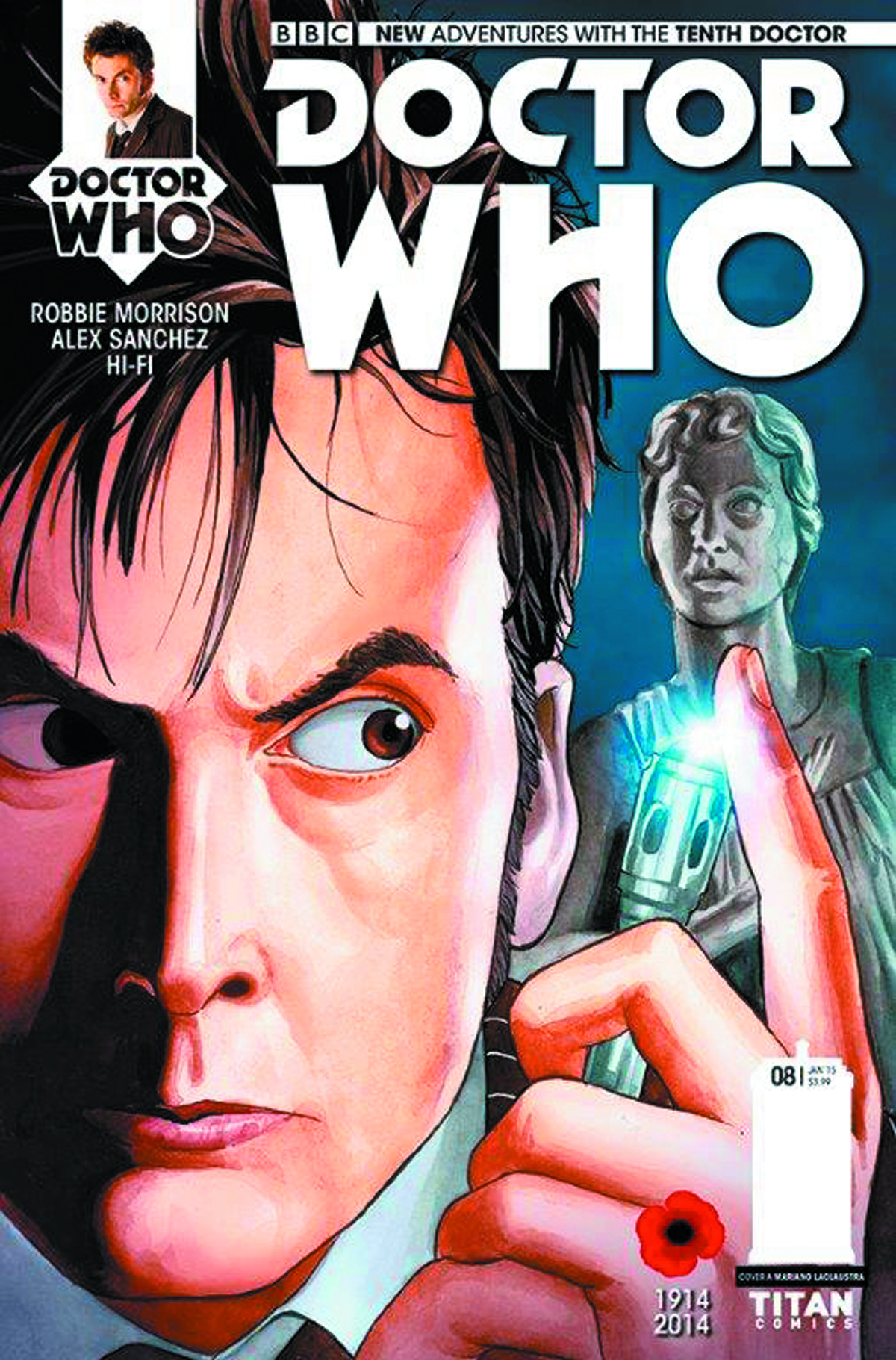 DOCTOR WHO 10TH #8 REG LACLAUSTRA