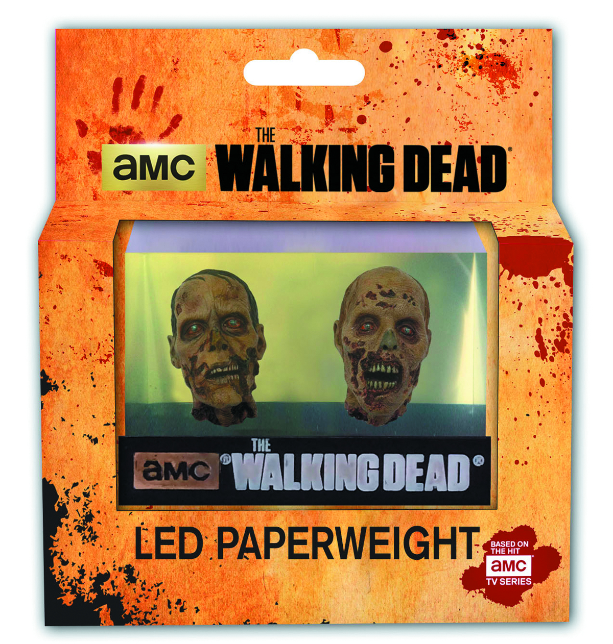 WALKING DEAD FISH TANK LED PAPERWEIGHT