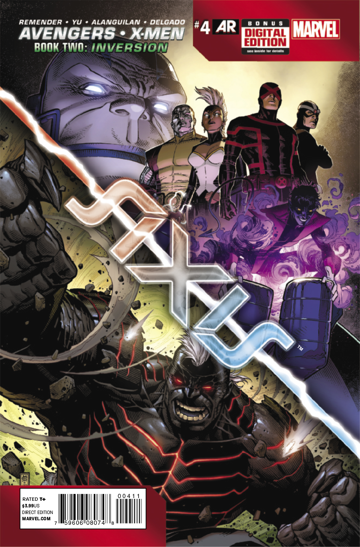 AVENGERS AND X-MEN AXIS #4 (OF 9)