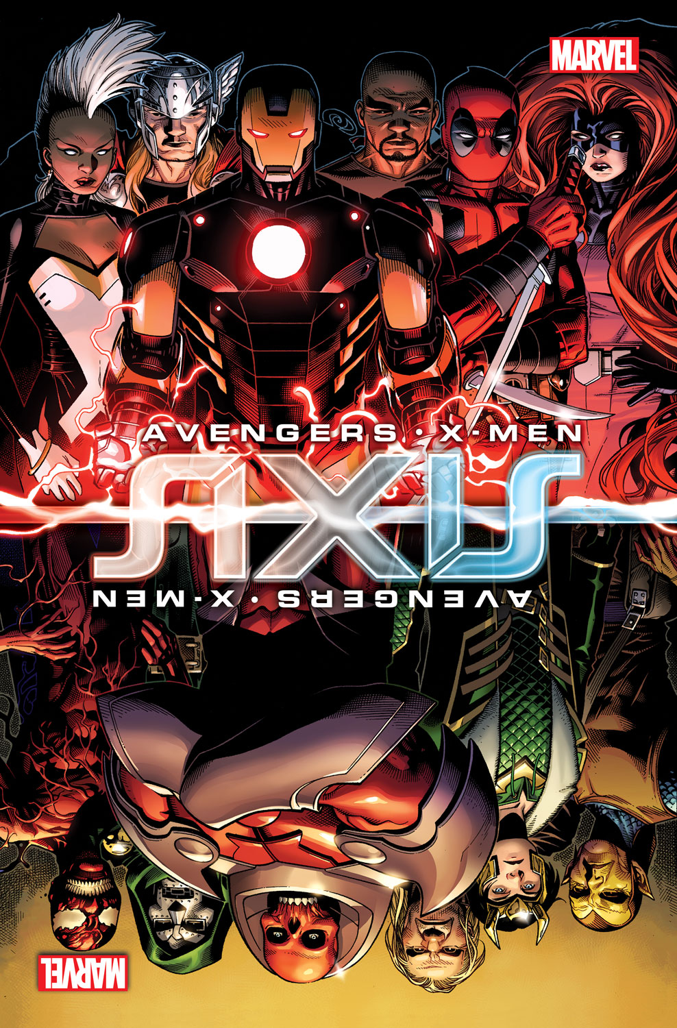 AVENGERS AND X-MEN AXIS #5