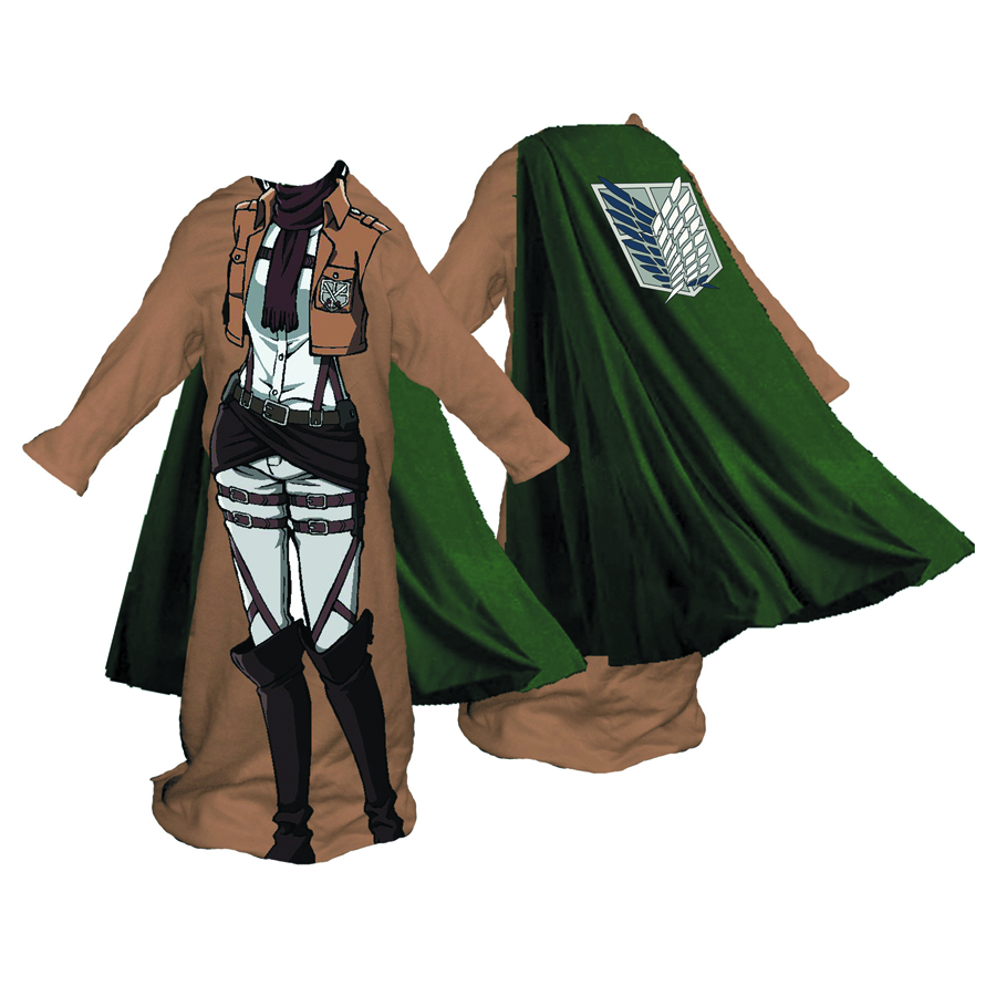 ATTACK ON TITAN FEMALE SCOUT CORP COZY W/CAPE
