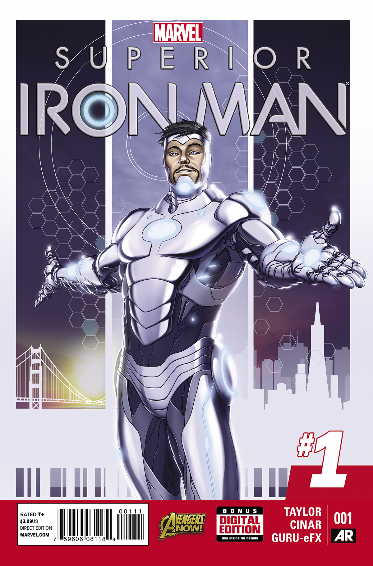 SUPERIOR IRON MAN #1 AXIS