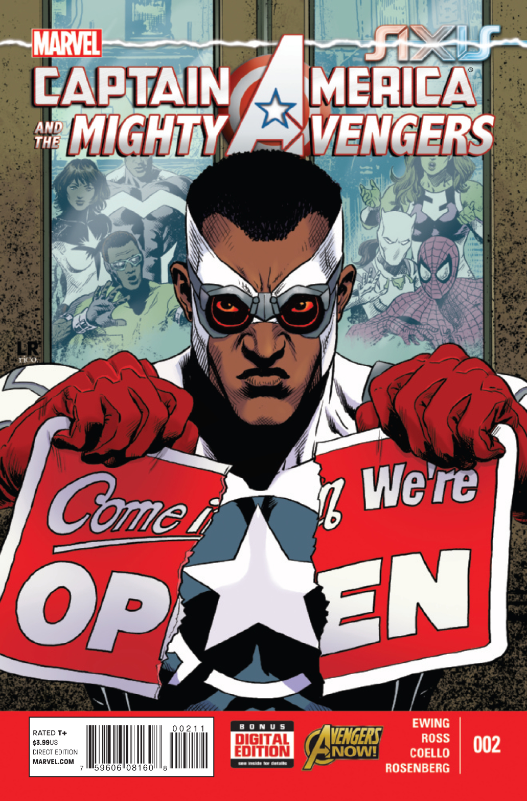 CAPTAIN AMERICA AND MIGHTY AVENGERS #2 AXIS