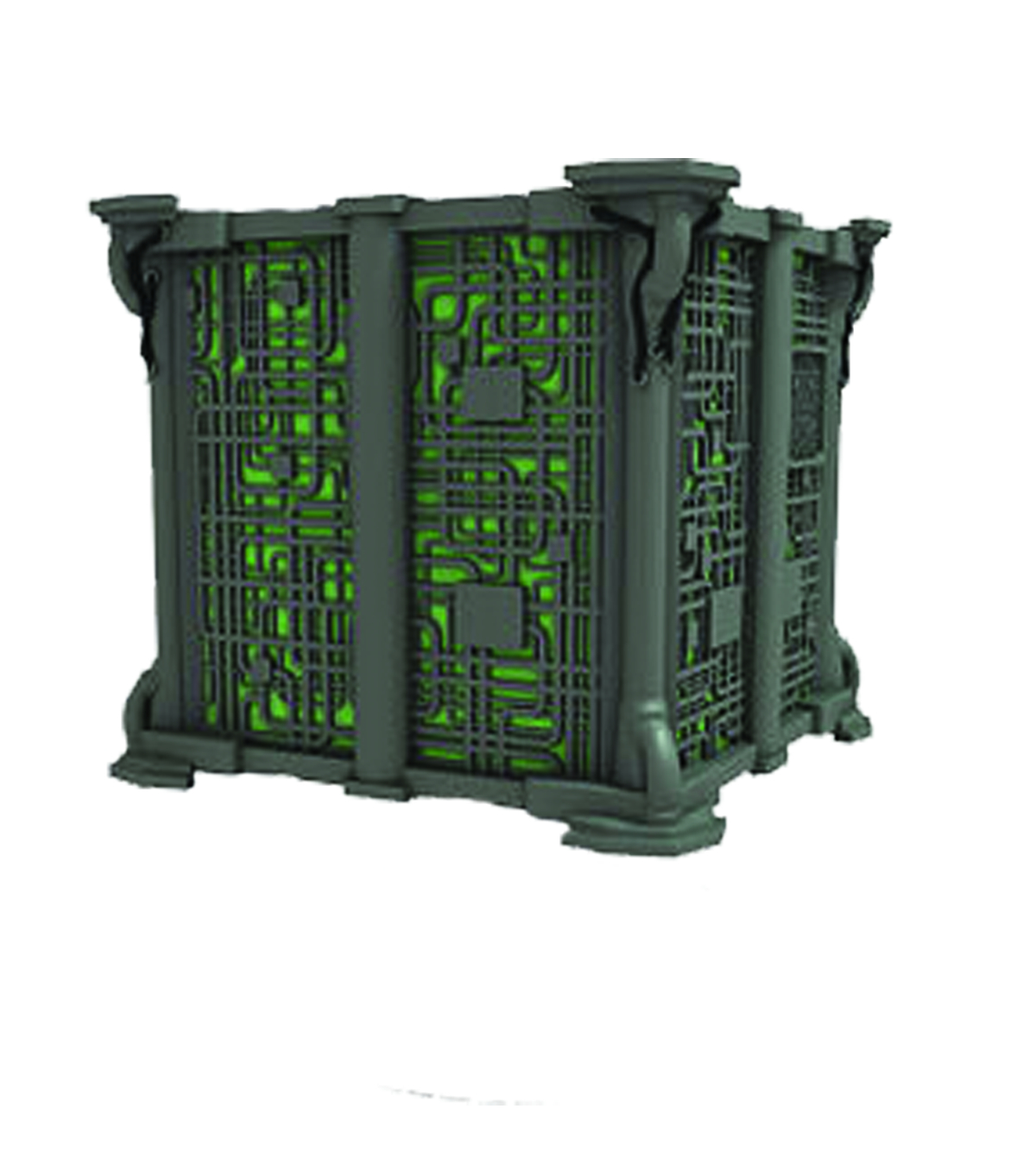 STAR TREK ATTACK WING BORG SCOUT CUBE EXP