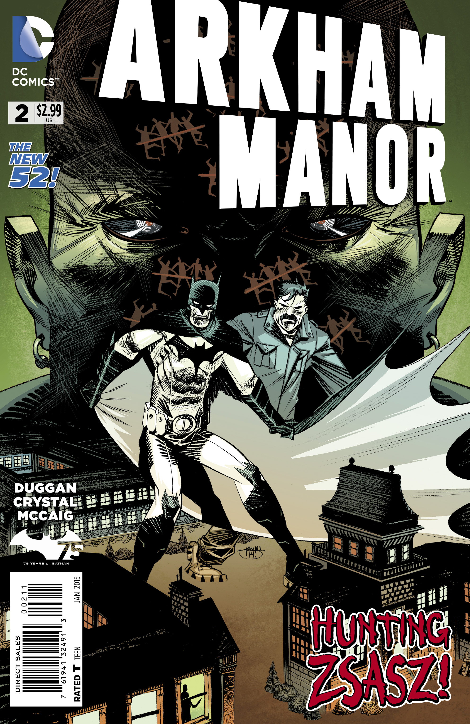 ARKHAM MANOR #2