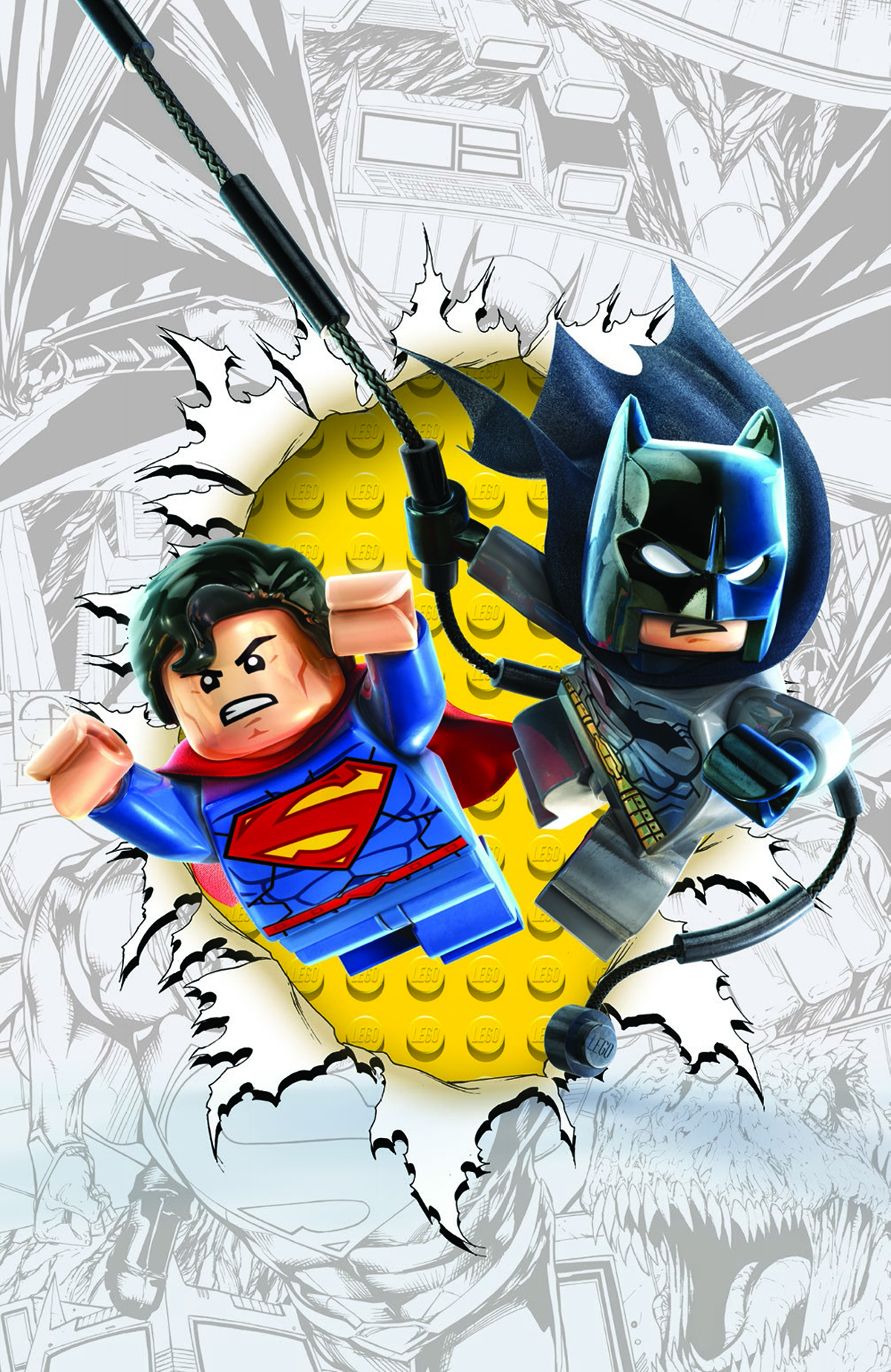 BATMAN SUPERMAN #16 LEGO VAR ED