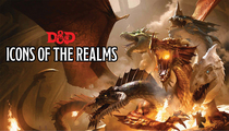 D&D ICONS OF THE REALMS BAHAMUT PREMIUM FIG