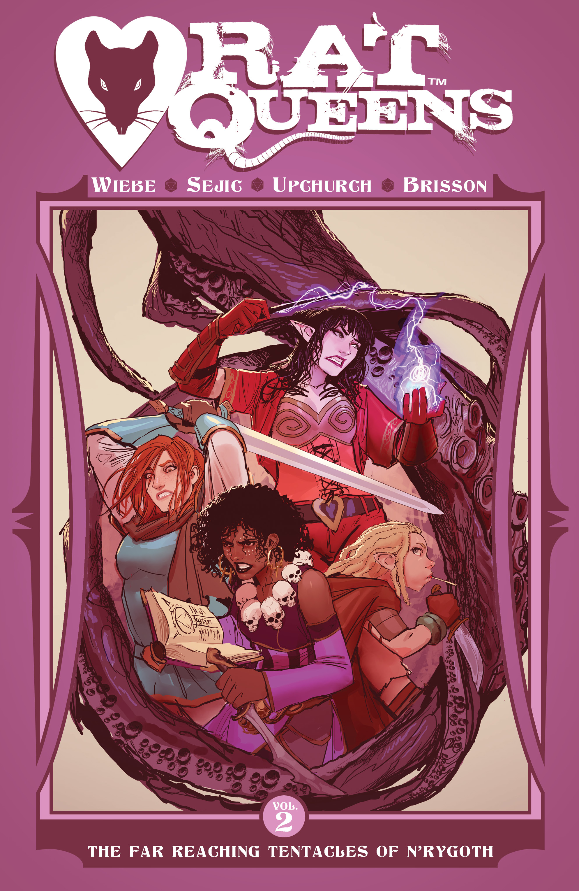 RAT QUEENS TP VOL 02 FAR REACHING TENTACLES OF NRYGOTH (SEP1