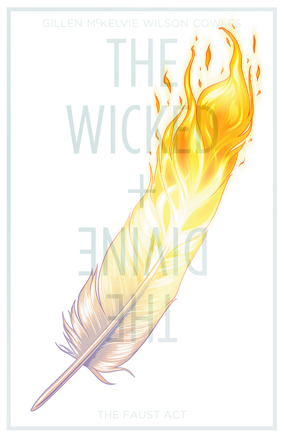 WICKED & DIVINE TP VOL 01 THE FAUST ACT