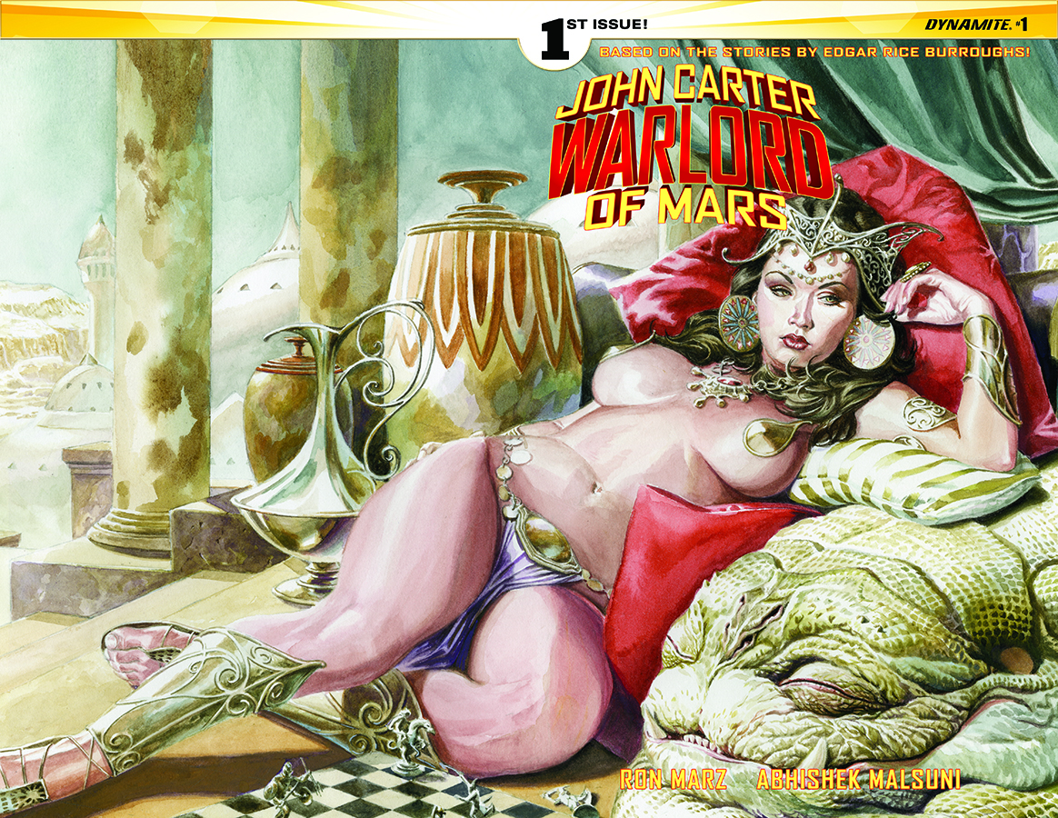 JOHN CARTER WARLORD #1 CVR C JONES WRAPAROUND VAR