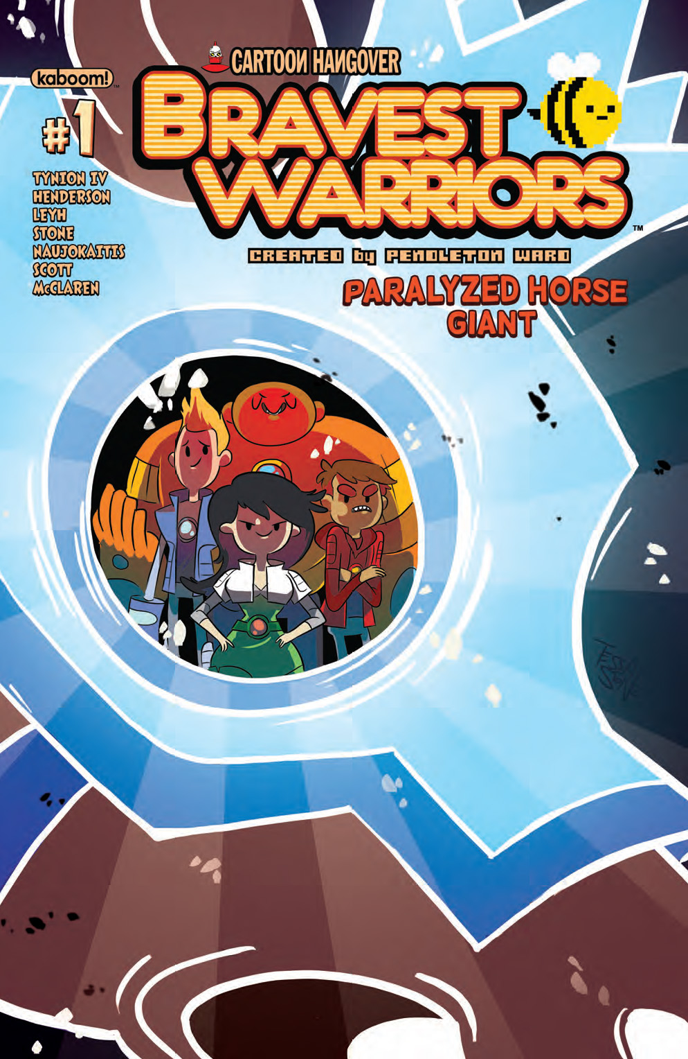 BRAVEST WARRIORS PARALYZED HORSE GIANT #1