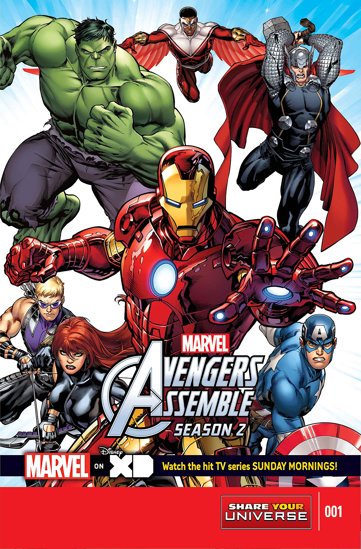 MARVEL UNIVERSE AVENGERS ASSEMBLE SEASON TWO #1