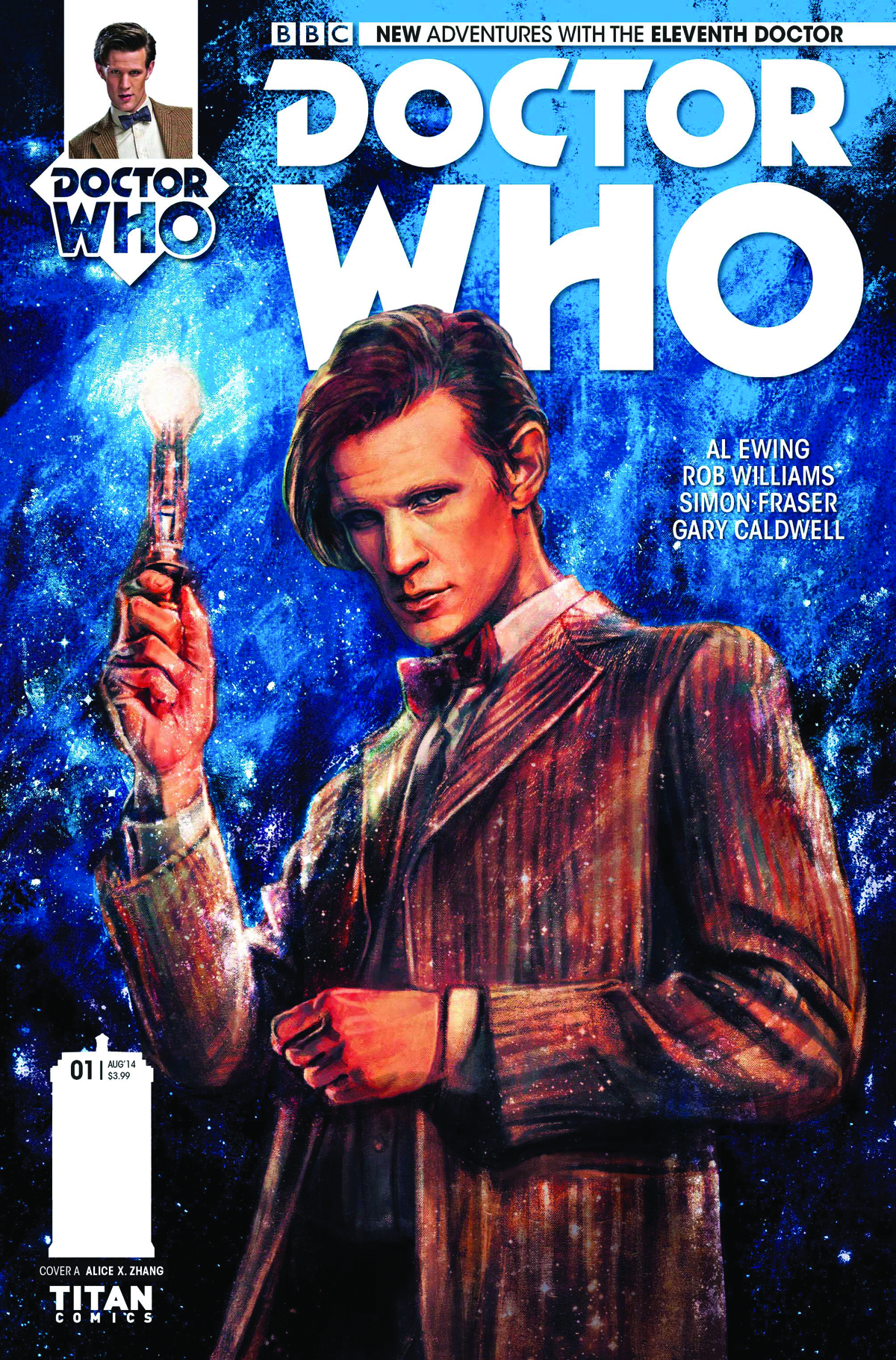 (USE APR141379) DOCTOR WHO 11TH #1 2ND PTG