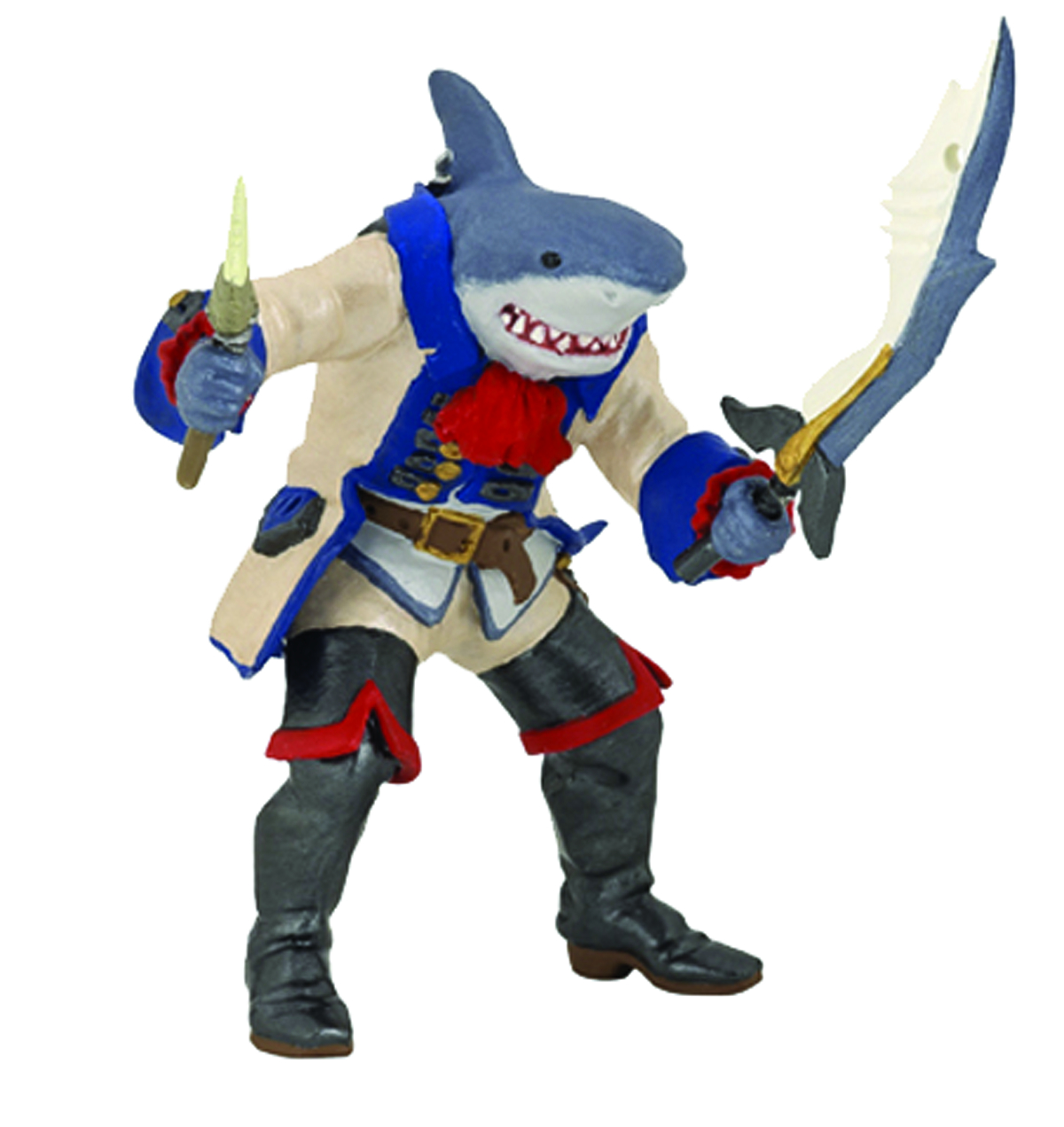 SHARK MUTANT PIRATE FIGURE