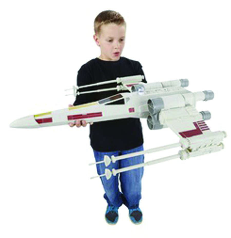 STAR WARS HERO SERIES X-WING FIGHTER CS