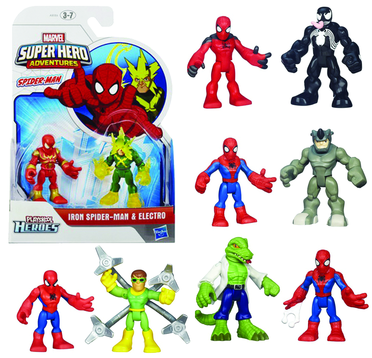 SPIDER-MAN SUPER HERO ADV FIG 2PK ASST