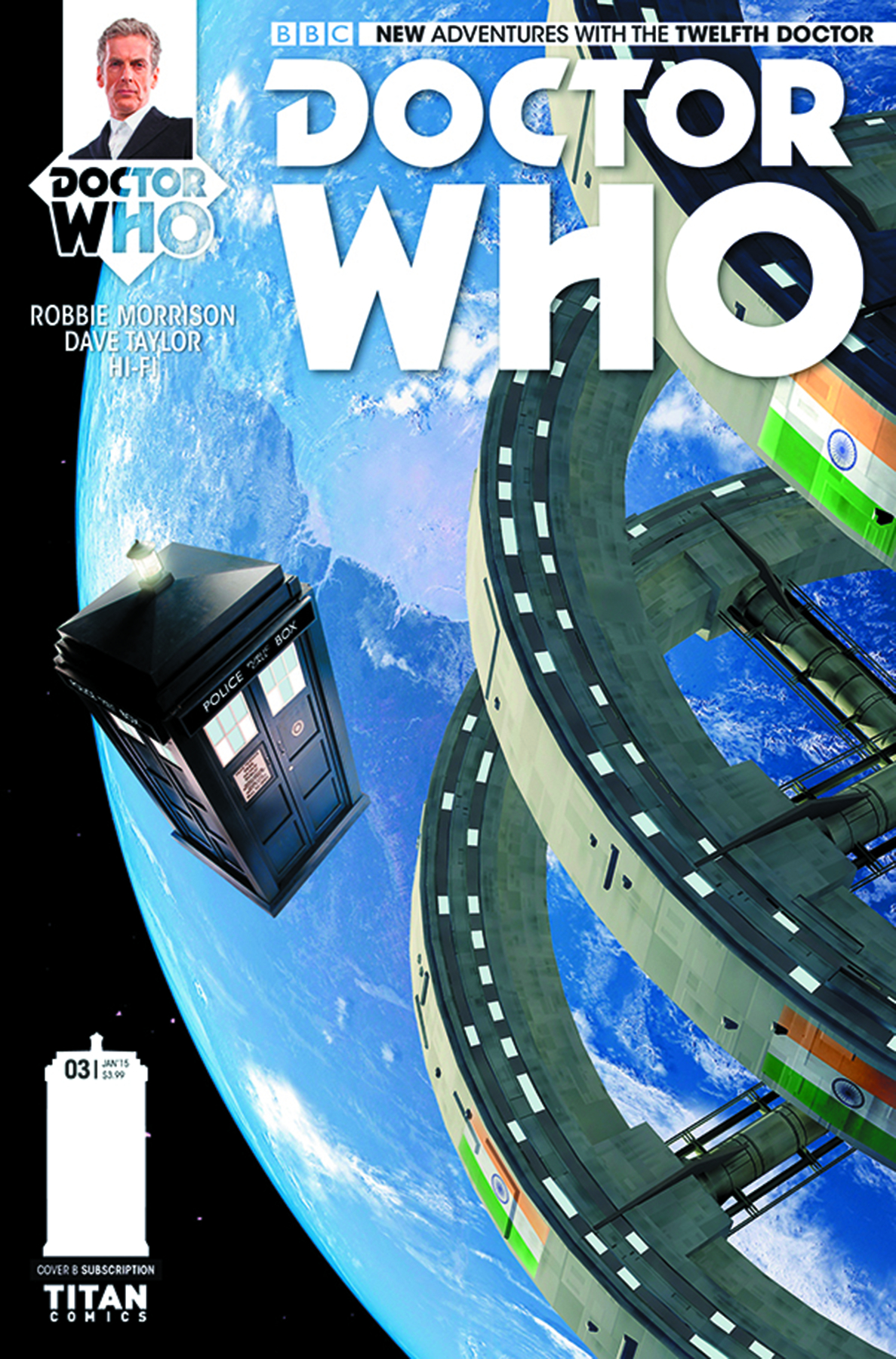 DOCTOR WHO 12TH #4 SUBSCRIPTION PHOTO