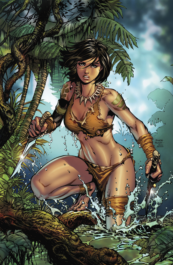 GFT JUNGLE BOOK FALL WILD #1 (OF 5) A CVR FINCH (MR)