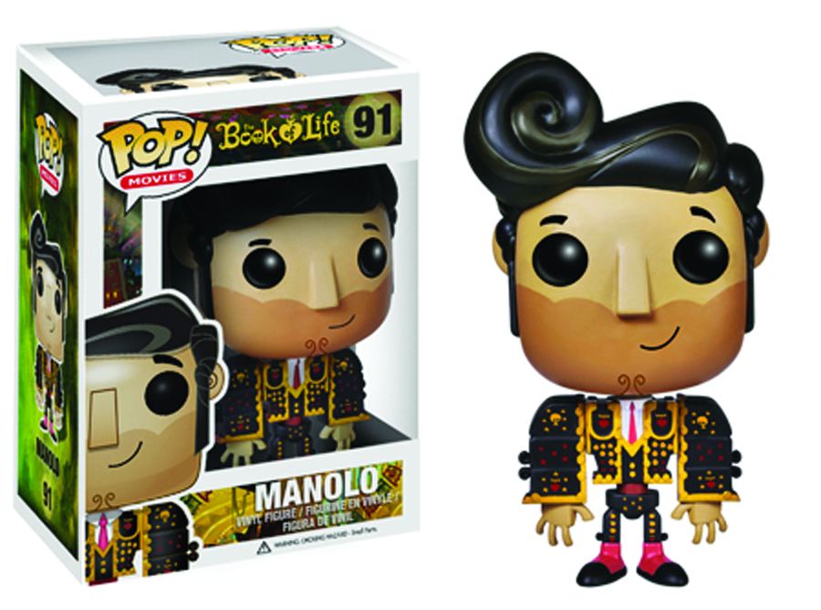 POP BOOK OF LIFE MANOLO VINYL FIG