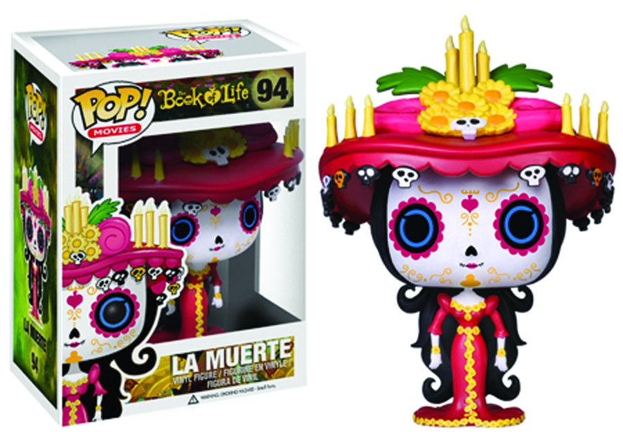 POP BOOK OF LIFE LA MUERTE VINYL FIG