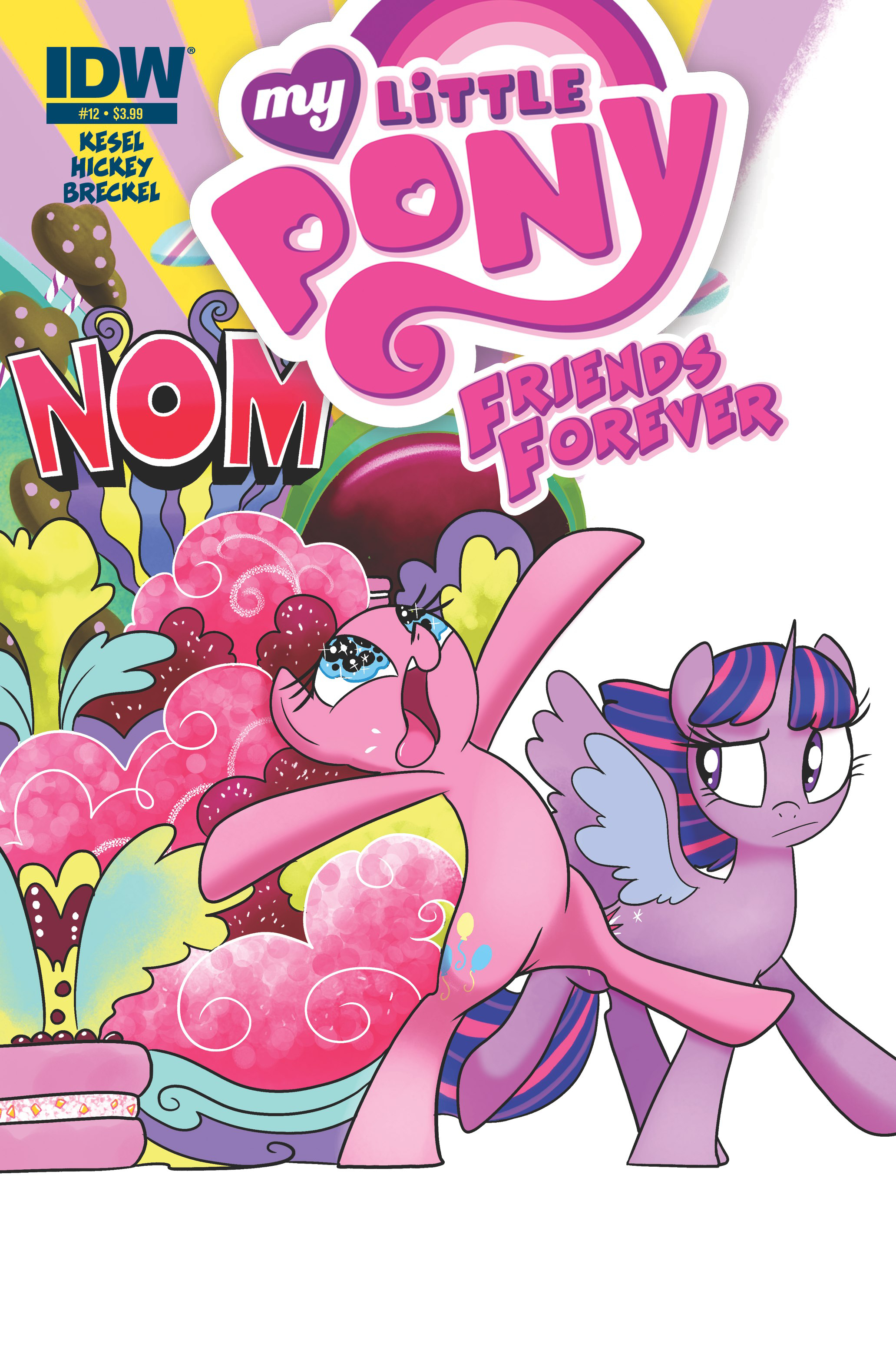 MY LITTLE PONY FRIENDS FOREVER #12