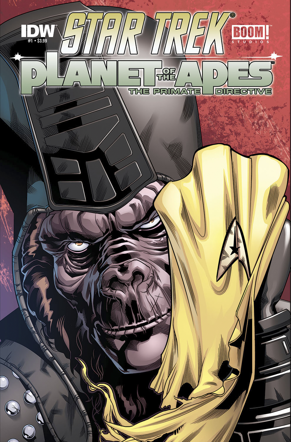 (USE NOV148211) STAR TREK PLANET OF THE APES #1 (OF 5)