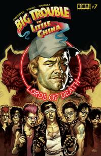 BIG TROUBLE IN LITTLE CHINA #7 MAIN CVRS