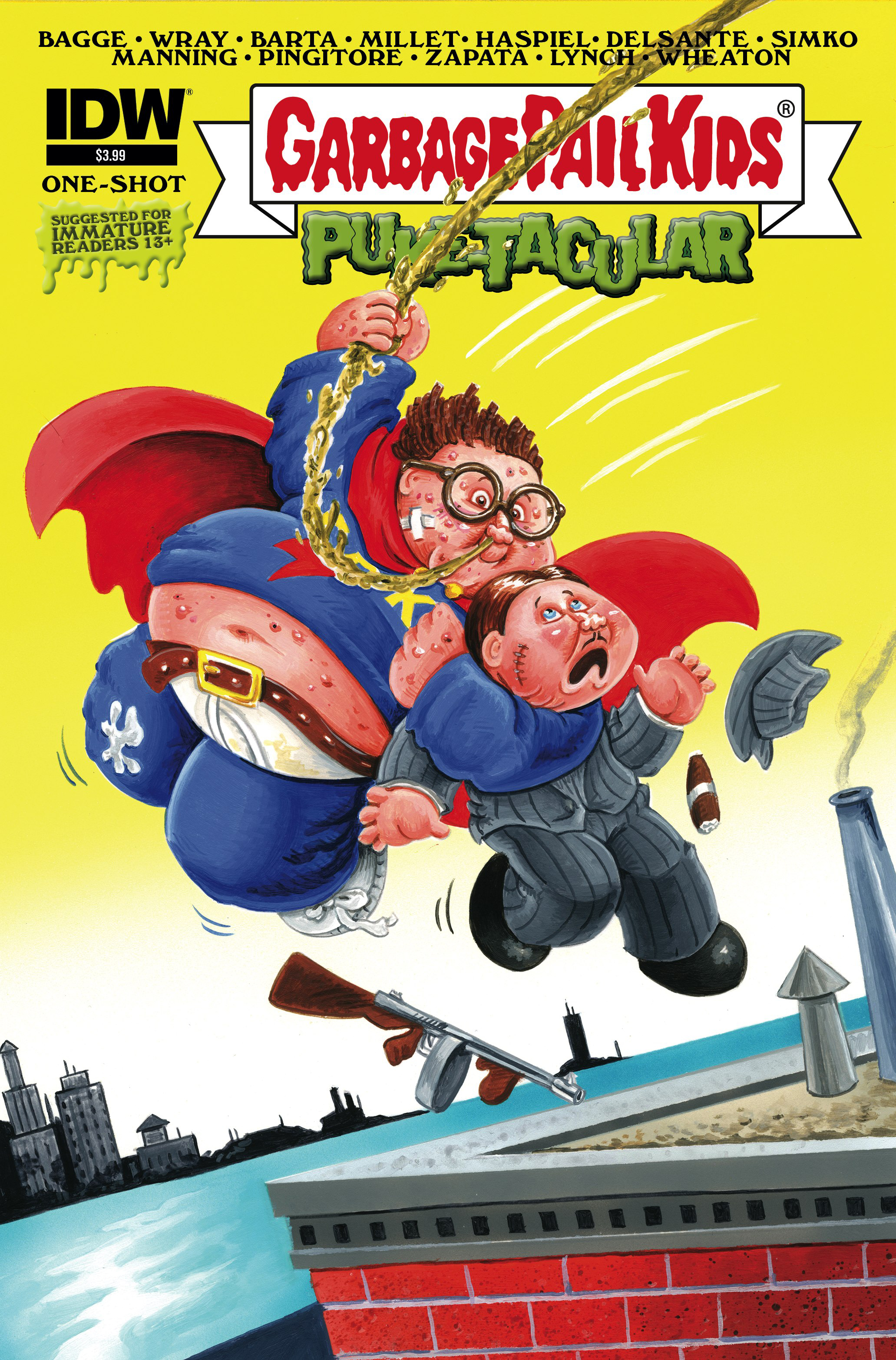 GARBAGE PAIL KIDS COMIC BOOK PUKETACULAR #1