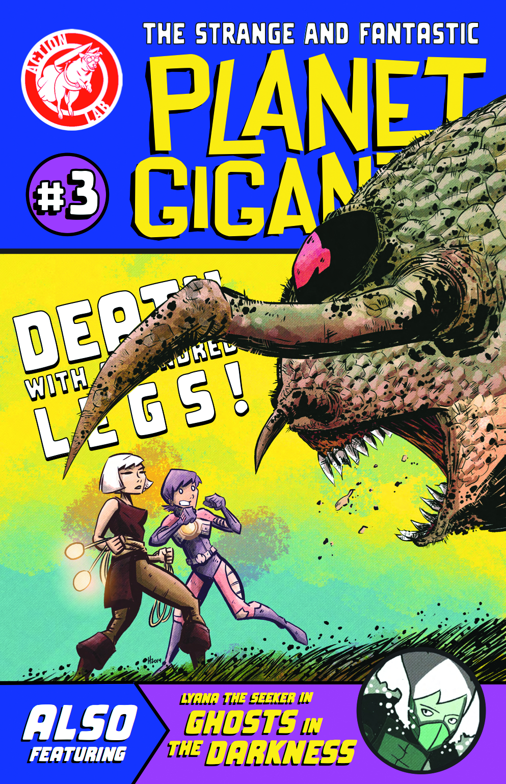 PLANET GIGANTIC #3 (OF 4)
